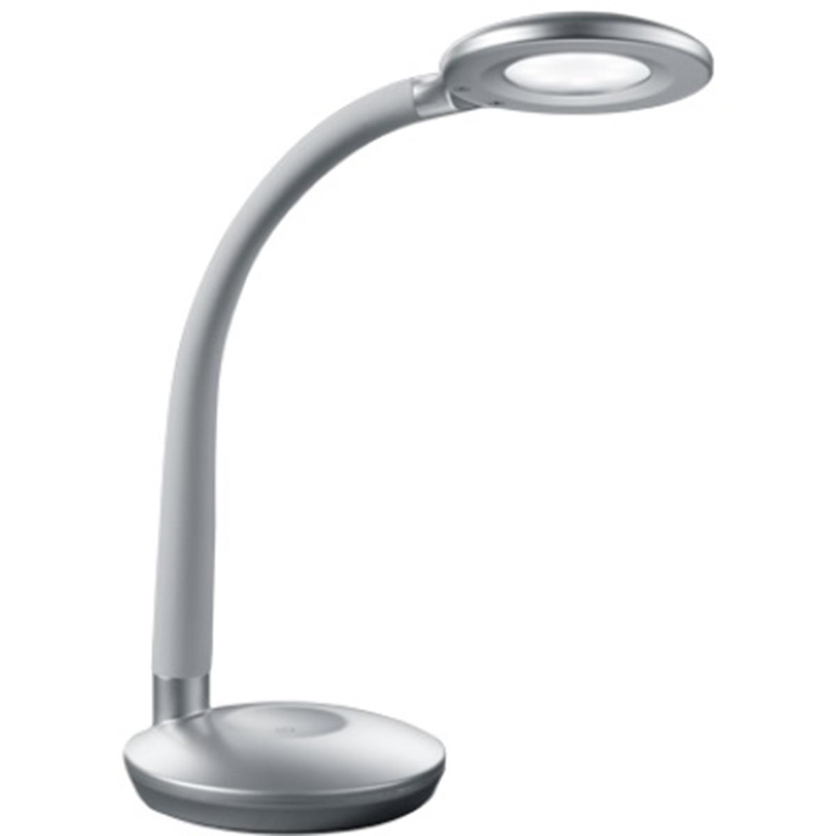 LED Tafellamp - Tafelverlichting - Trion Kori - 3W - Warm Wit 3000K - Rond - Mat
