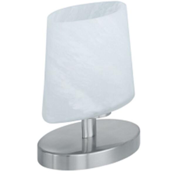 LED Tafellamp - Tafelverlichting - Trion Morta - G9 Fitting - Dimbaar - Rond - Mat Nikkel - Aluminiu