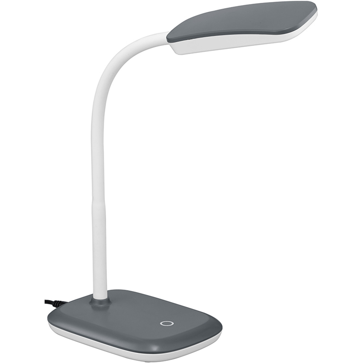 LED Tafellamp - Trion Bolina - 3W - Warm Wit 3000K - Dimbaar - Rechthoek - Glans