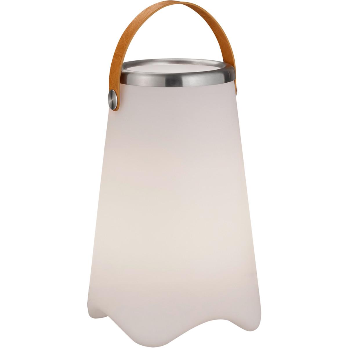 LED Tafellamp - Trion Jamino - Bluetooth Speaker - Spatwaterdicht - Afstandsbediening - Oplaadbaar -