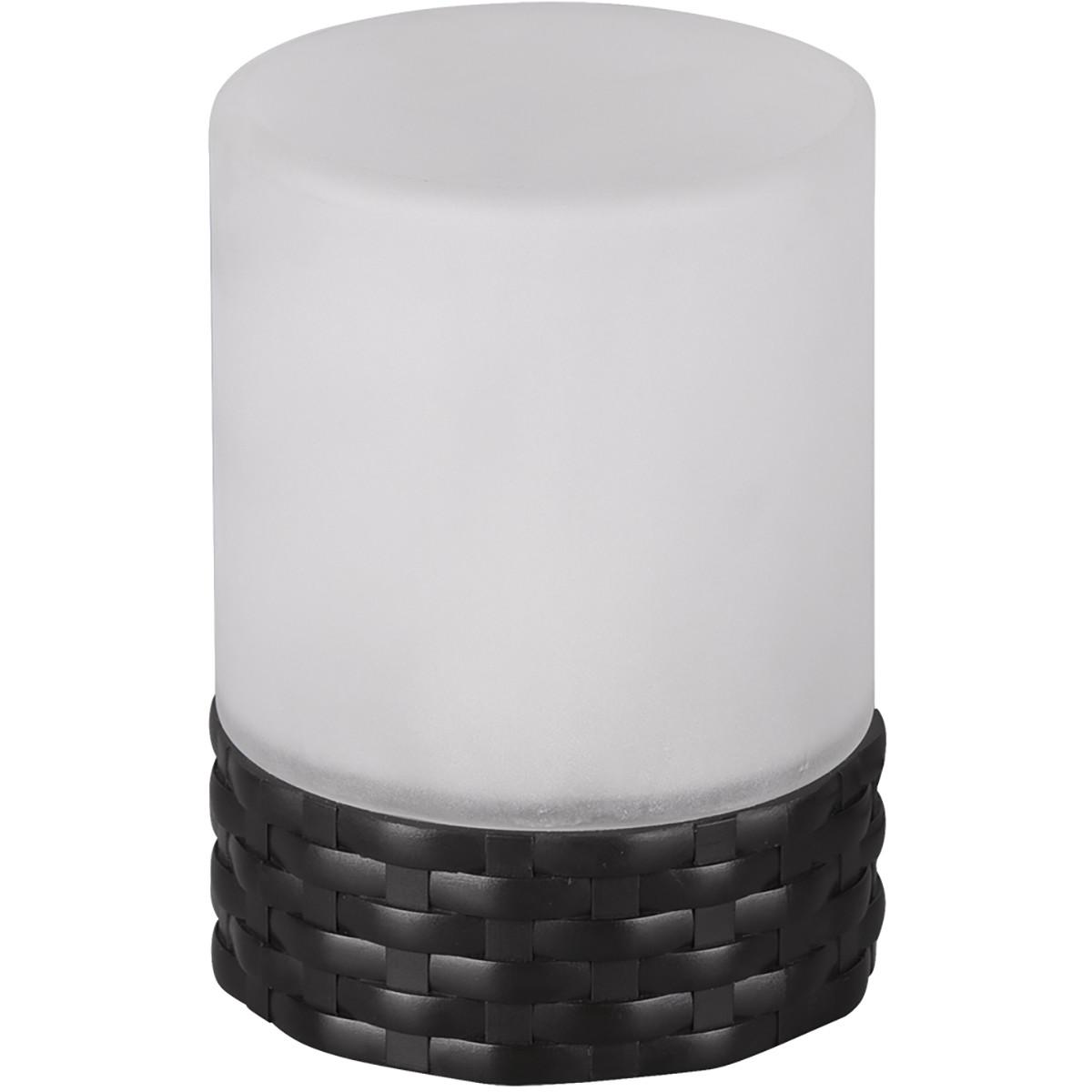 LED Tafellamp - Trion Parila - Zonne-energie - Spatwaterdicht - Mat Zwart - Kunststof