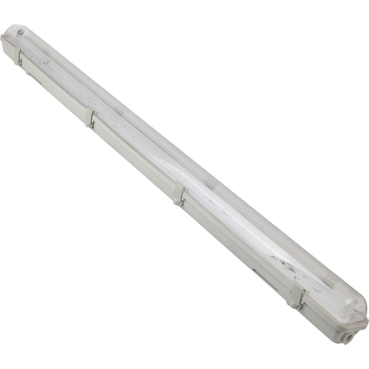 LED TL Armatuur T8 - Aigi Hari - 150cm Enkel - Waterdicht IP65 - Kunststof