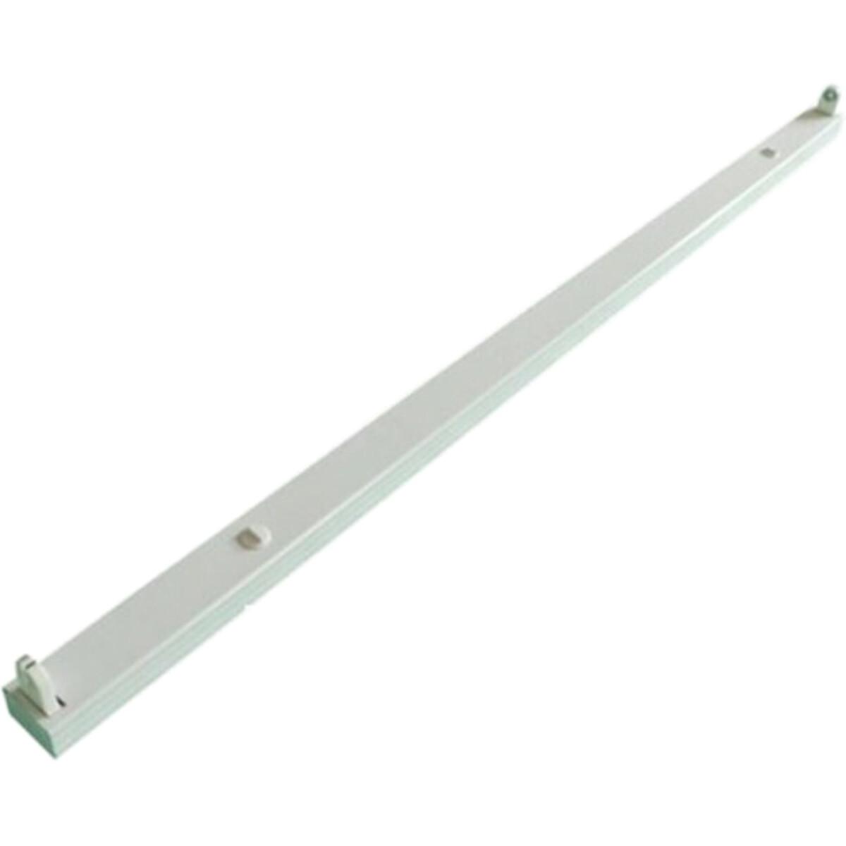 LED TL Armatuur T8 - Aigi Dybolo - 120cm Enkel - IP20 - Mat Wit - Staal