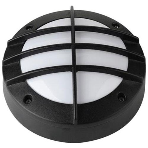 LED Tuinverlichting - Buitenlamp - Maran - Wand - Aluminium Mat Zwart - 6W Natuu