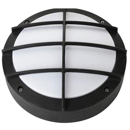 LED Tuinverlichting - Buitenlamp - Nara - Wand - Aluminium Mat Zwart - 12W Natuu