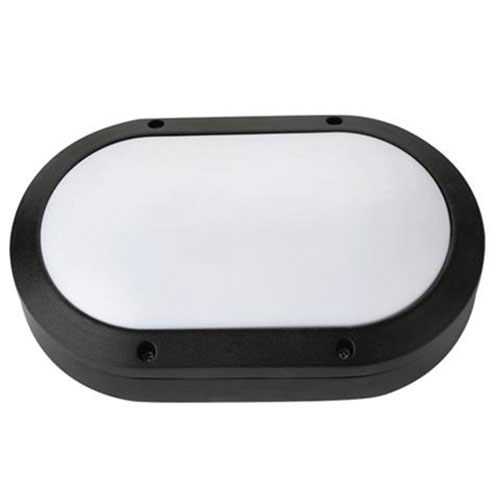 LED Tuinverlichting - Buitenlamp - Rapon - Wand - Aluminium Mat Zwart - 8W Natuu
