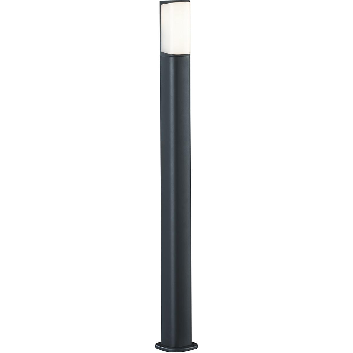 LED Tuinverlichting - Buitenlamp - Trion Ticani XL - Staand - 5W - Mat Zwart - Aluminium
