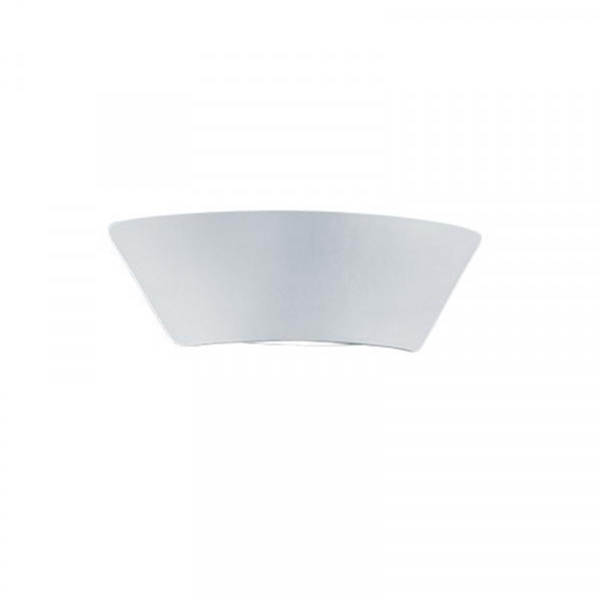 LED Tuinverlichting - Tuinlamp - Trion Sacamon - Wand - 7W - Mat Wit - Aluminium