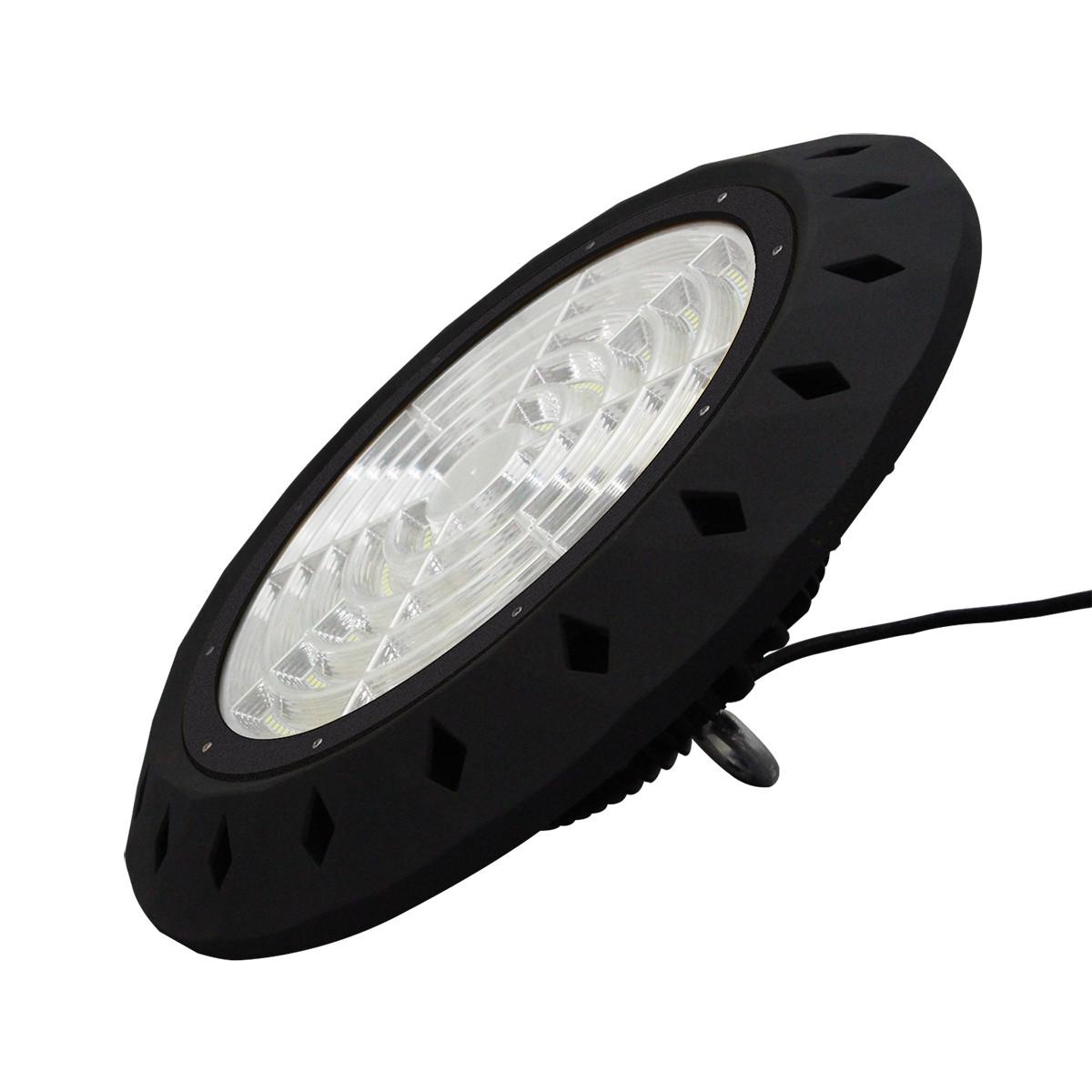 LED UFO High Bay 100W - Aigi - Magazijnverlichting - Waterdicht IP65 - Natuurlijk Wit 4000K - Alumin