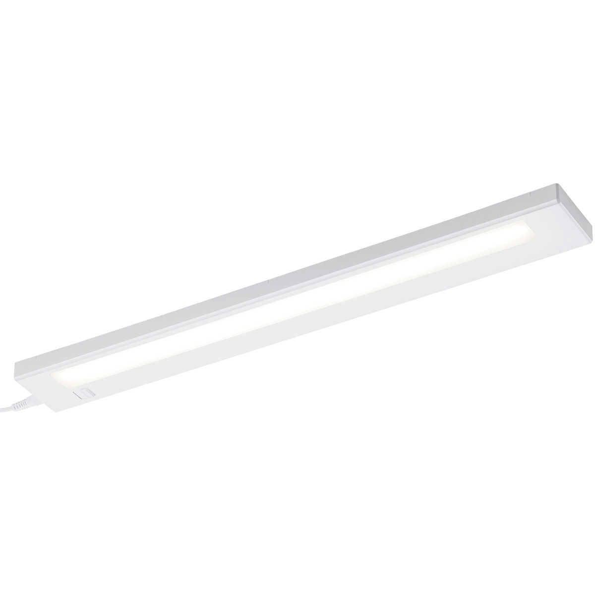 LED Wandlamp Trion Alyna 7W Warm Wit 3000K Rechthoek Mat Wit