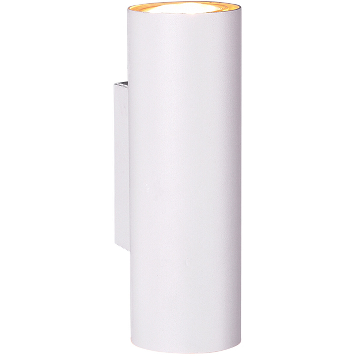 LED Wandlamp - Trion Mary - GU10 Fitting - Rond - Mat Wit - Aluminium