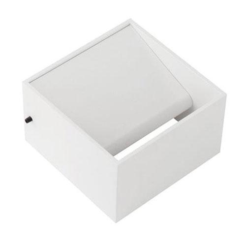LED Wandlamp - Wandverlichting - 8W - Natuurlijk Wit 4200K - Mat Wit Aluminium -