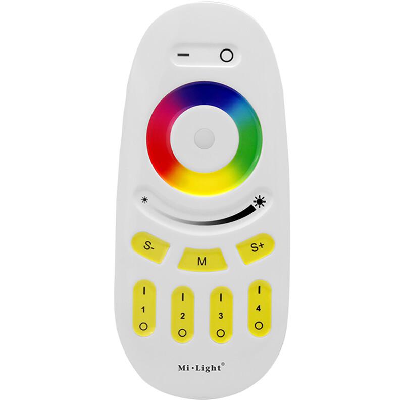 Mi-Light - Smart Touch Afstandsbediening - RGB+CCT - 4 Zone - Mat Wit