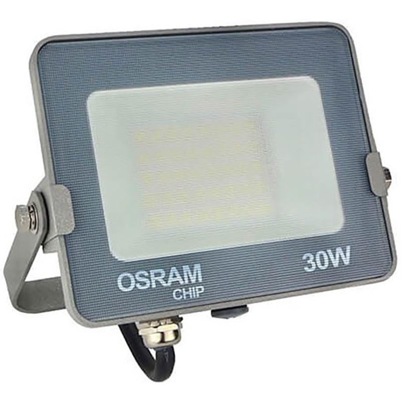 OSRAM - LED Bouwlamp 30 Watt - LED Schijnwerper - Warm Wit 3000K - Waterdicht IP65