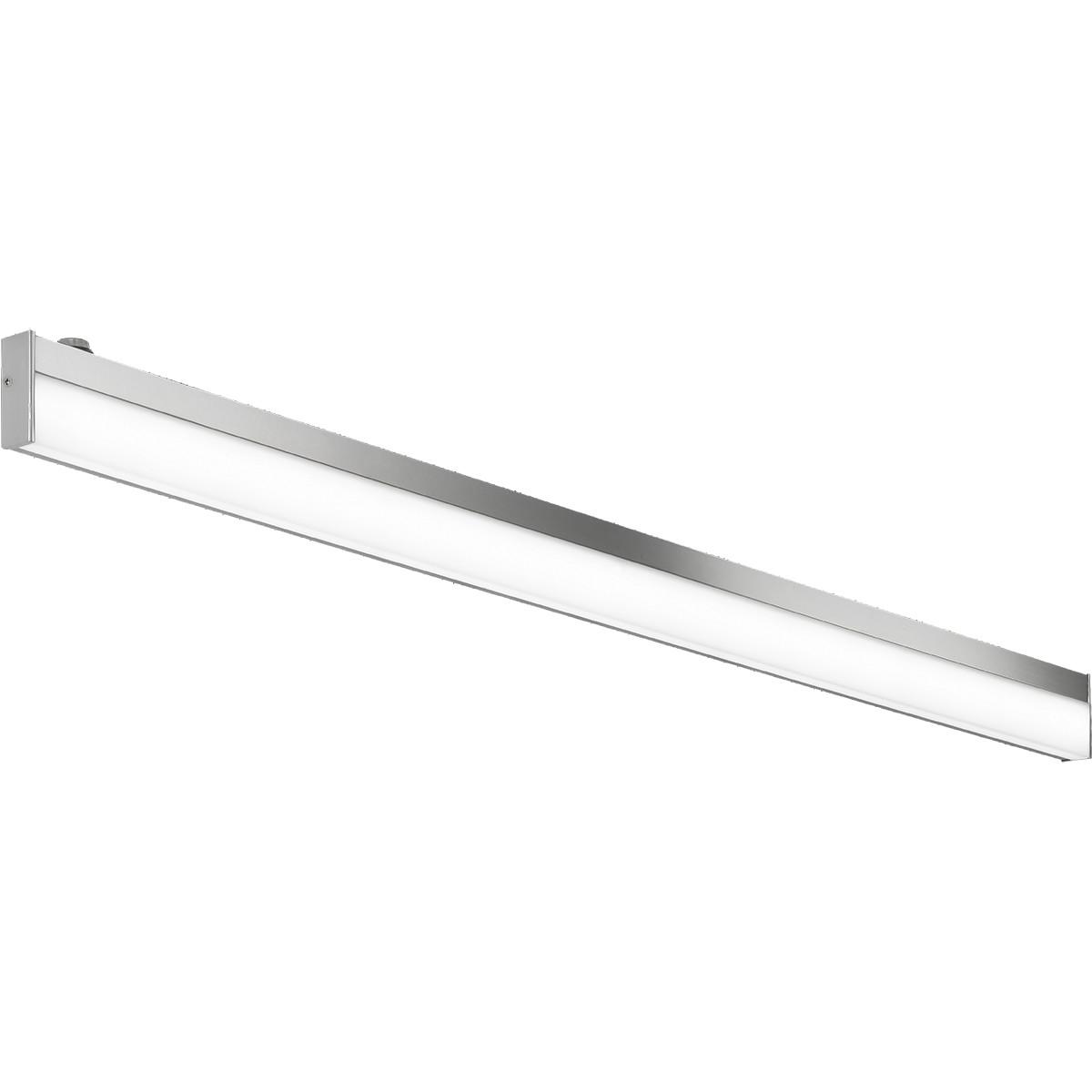 OSRAM - LED Spiegelverlichting - Trion Nalina - 12W - Spatwaterdicht IP44 - Warm Wit 3000K - Glans C