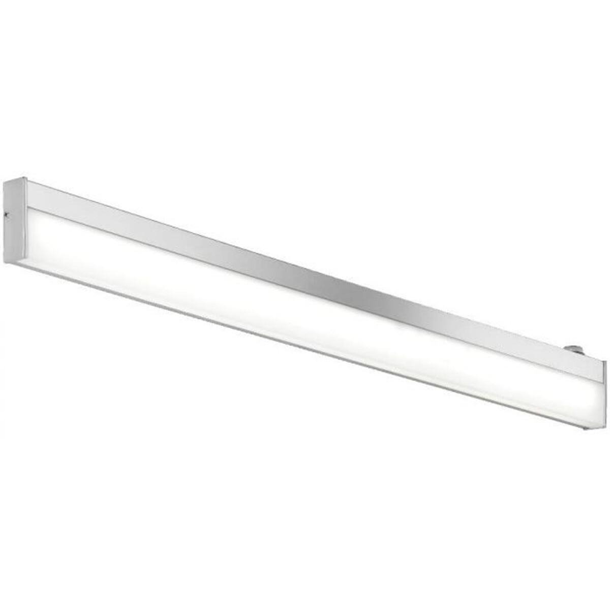 OSRAM - LED Spiegelverlichting - Trion Nalina - 9W - Spatwaterdicht IP44 - Warm Wit 3000K - Glans Ch