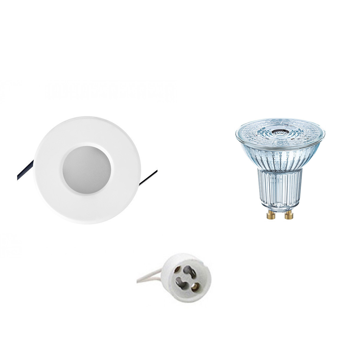 OSRAM - LED Spot Set - Parathom PAR16 940 36D - Aigi - GU10 Fitting - Waterdicht IP65 - Dimbaar - In