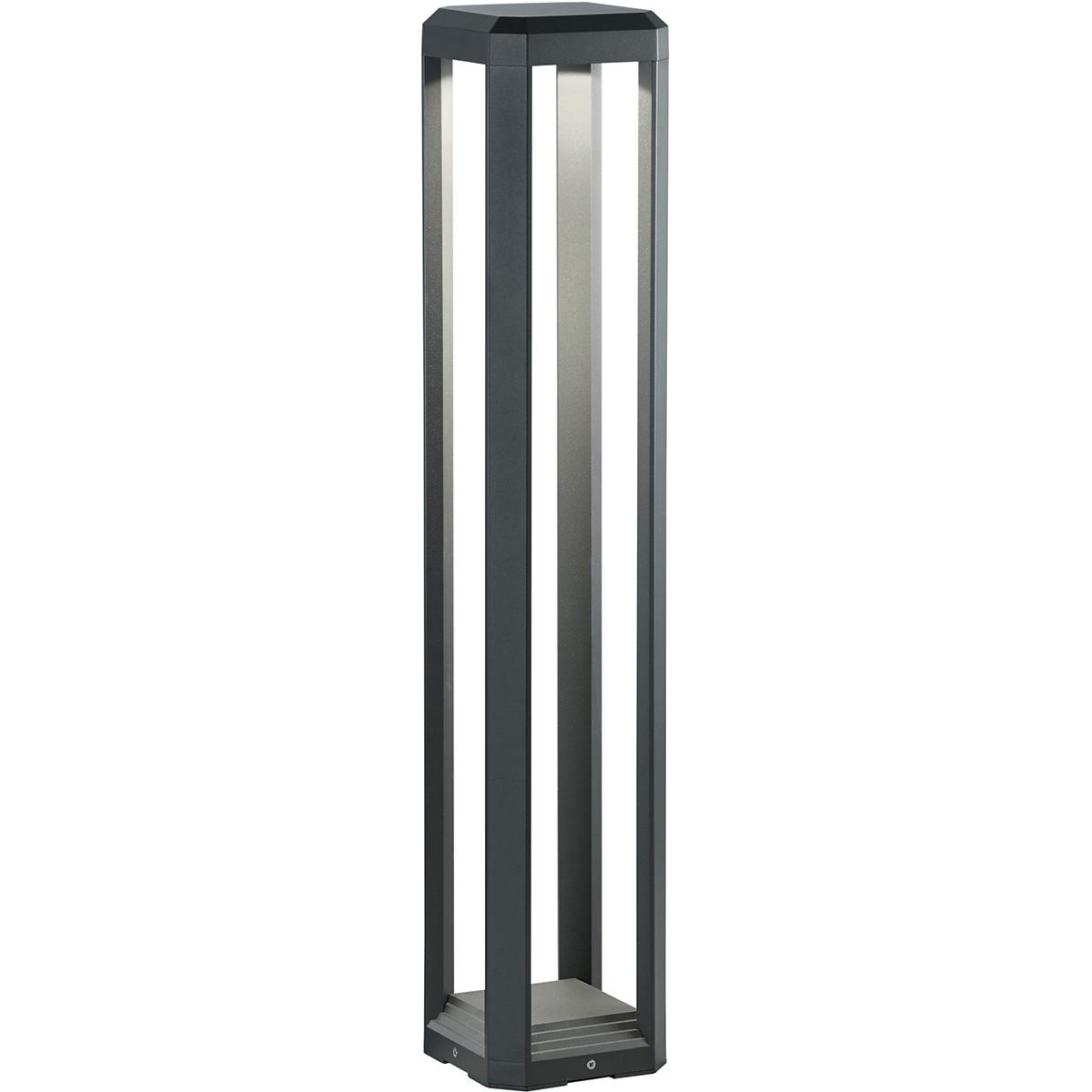 OSRAM - LED Tuinverlichting - Buitenlamp - Trion Logani XL - Staand - 11W - Mat Zwart - Aluminium