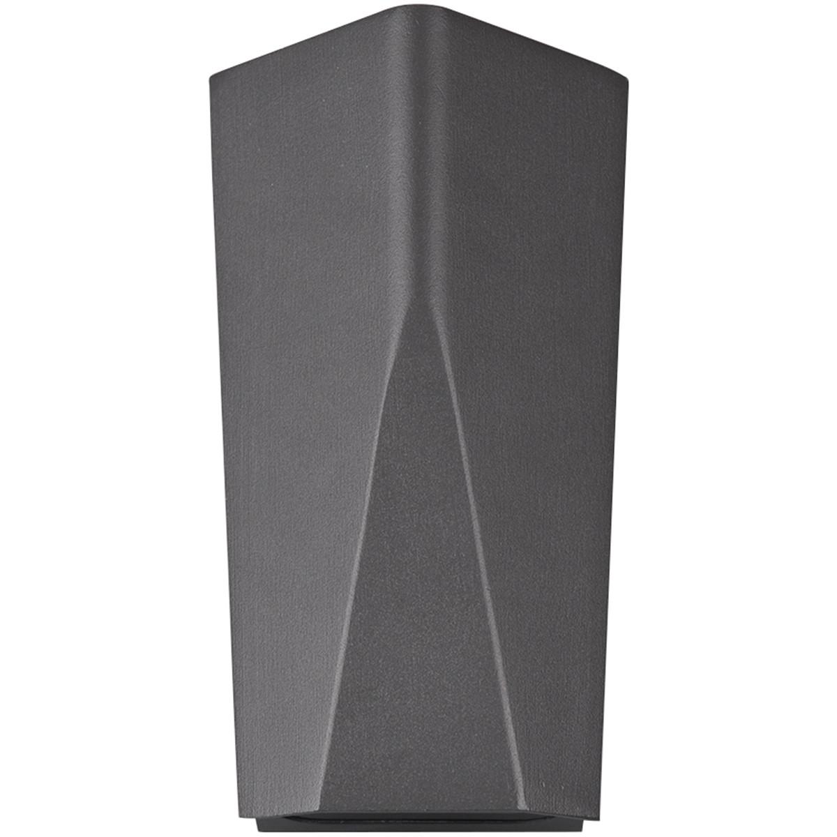 OSRAM - LED Tuinverlichting - Tuinlamp - Trion Tonay - Wand - 8W - Mat Zwart - Aluminium