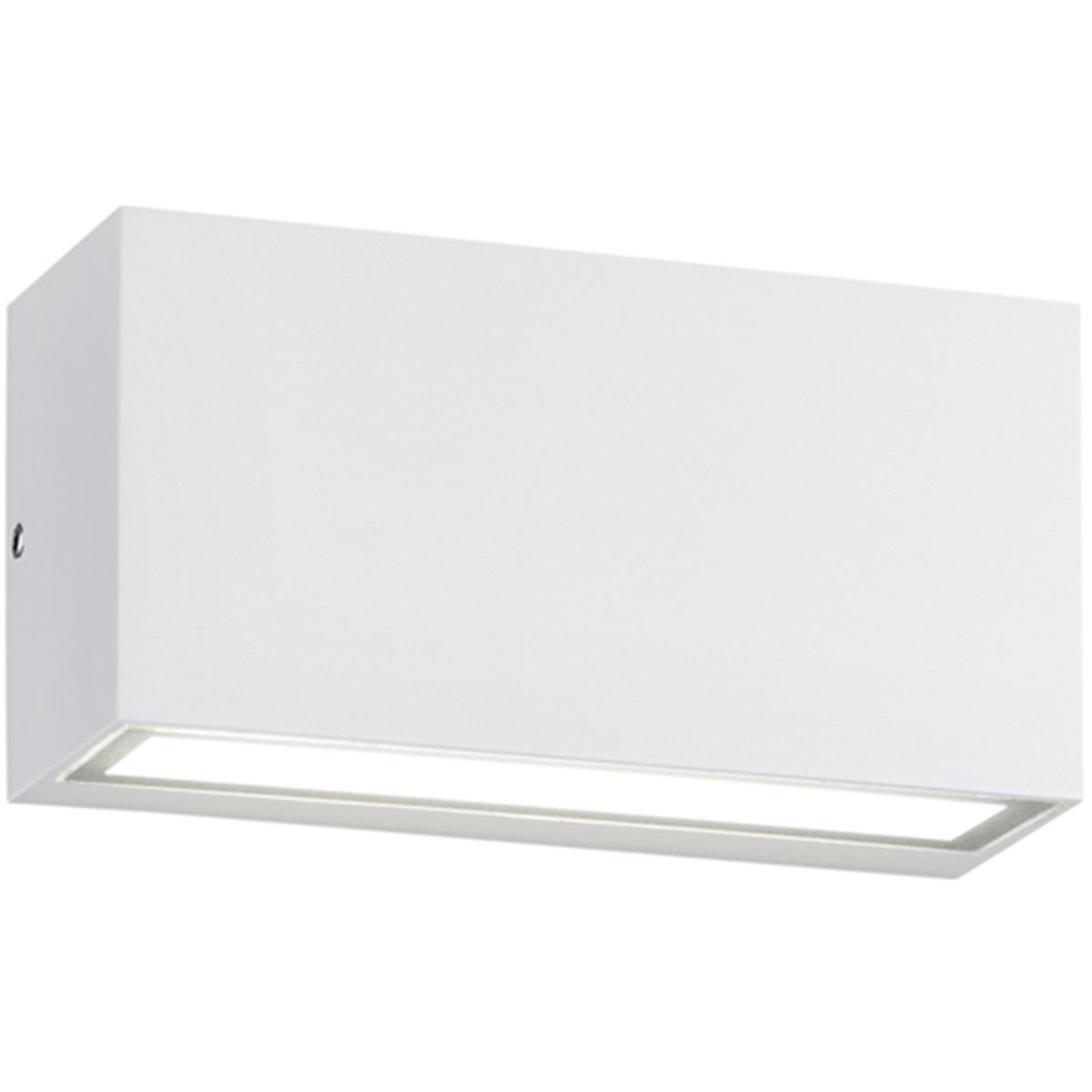 OSRAM - LED Tuinverlichting - Tuinlamp - Trion Tront - Wand - 10W - Mat Wit - Aluminium