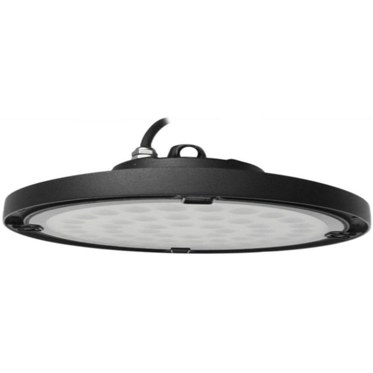 OSRAM - LED UFO High Bay 200W - Magazijnverlichting - Waterdicht IP65 - Helder/Koud Wit 6000K - Alum