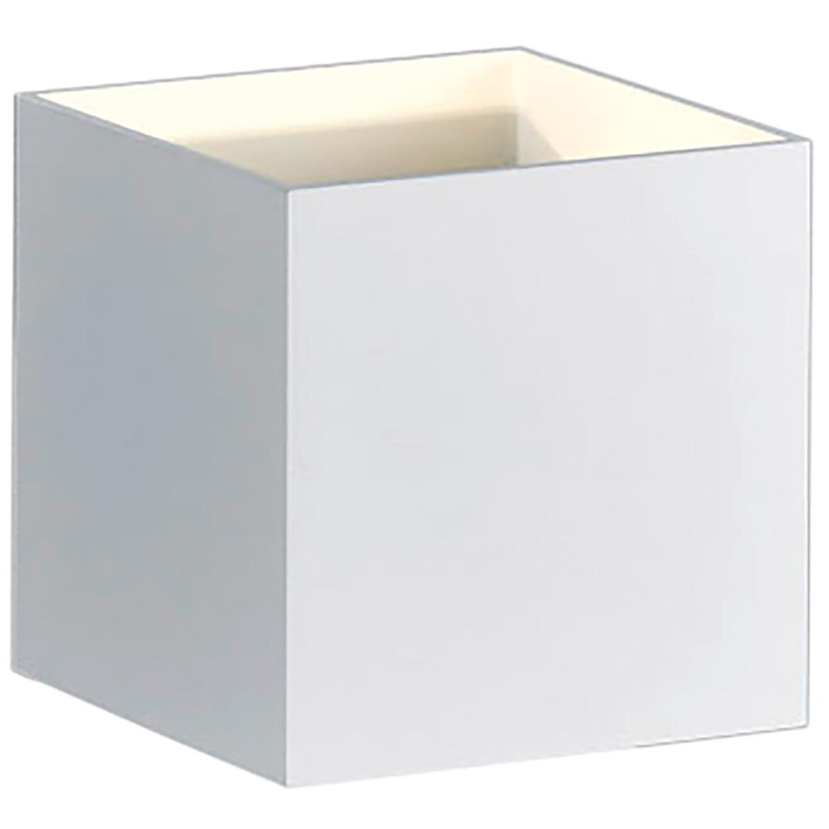 OSRAM - LED Wandlamp - Trion Loacy - 4W - Warm Wit 3000K - Vierkant - Mat Wit - Aluminium
