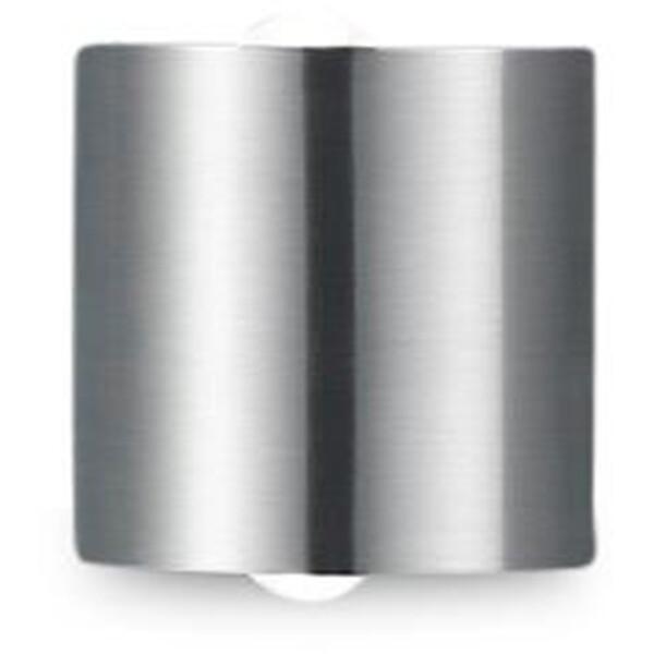OSRAM - LED Wandlamp - Trion Wallis- 6W - Warm Wit 3000K - Rond - Mat Nikkel - Aluminium