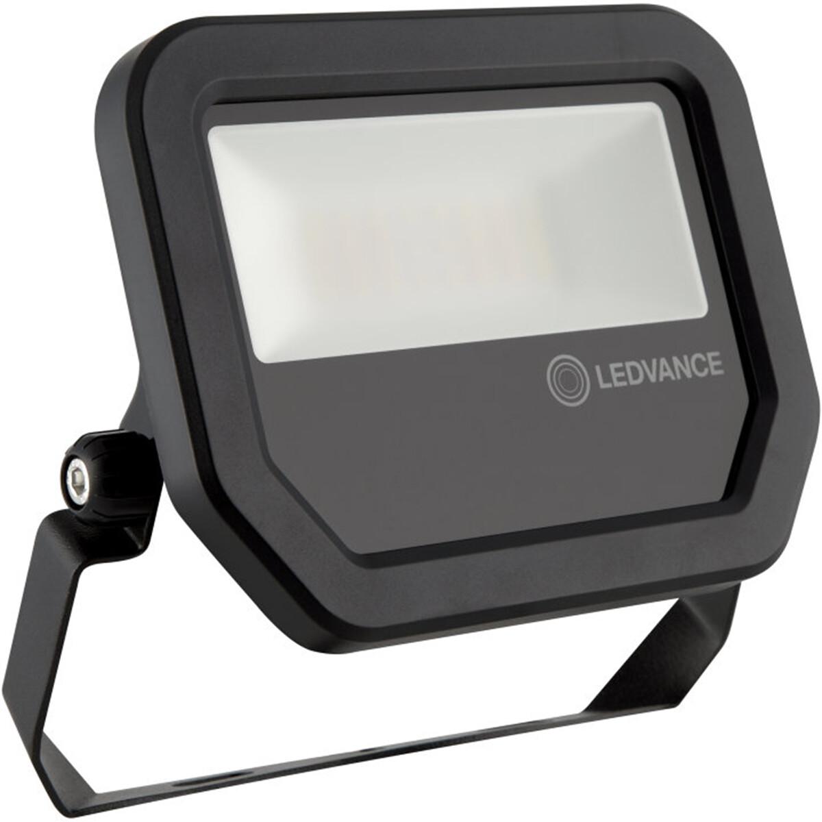 OSRAM - LEDVANCE - LED Breedstraler 20 Watt - LED Schijnwerper - FL PFM SYM 100 BK - Warm Wit 3000K