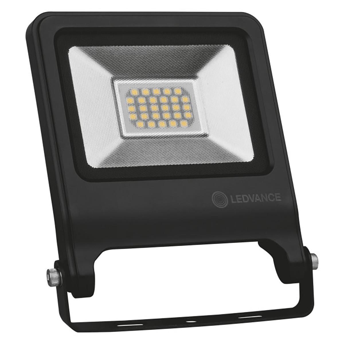 OSRAM - LEDVANCE - LED Breedstraler 20 Watt - LED Schijnwerper - Natuurlijk Wit 4000K - Waterdicht I