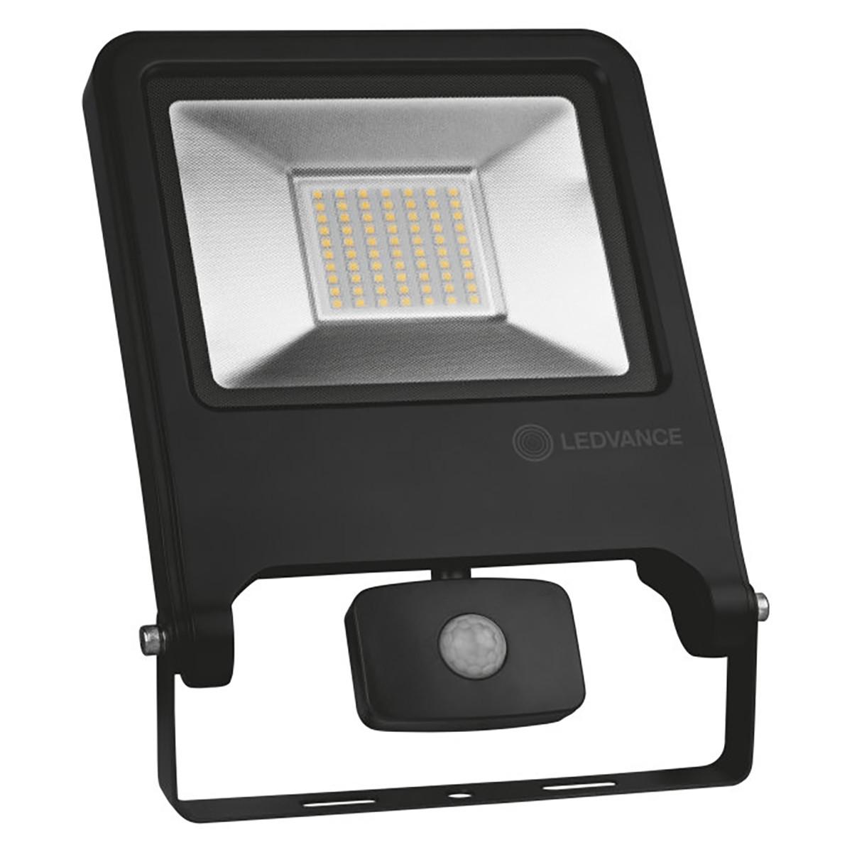 OSRAM - LEDVANCE - LED Breedstraler 50 Watt met sensor - LED Schijnwerper - Natuurlijk Wit 4000K - S