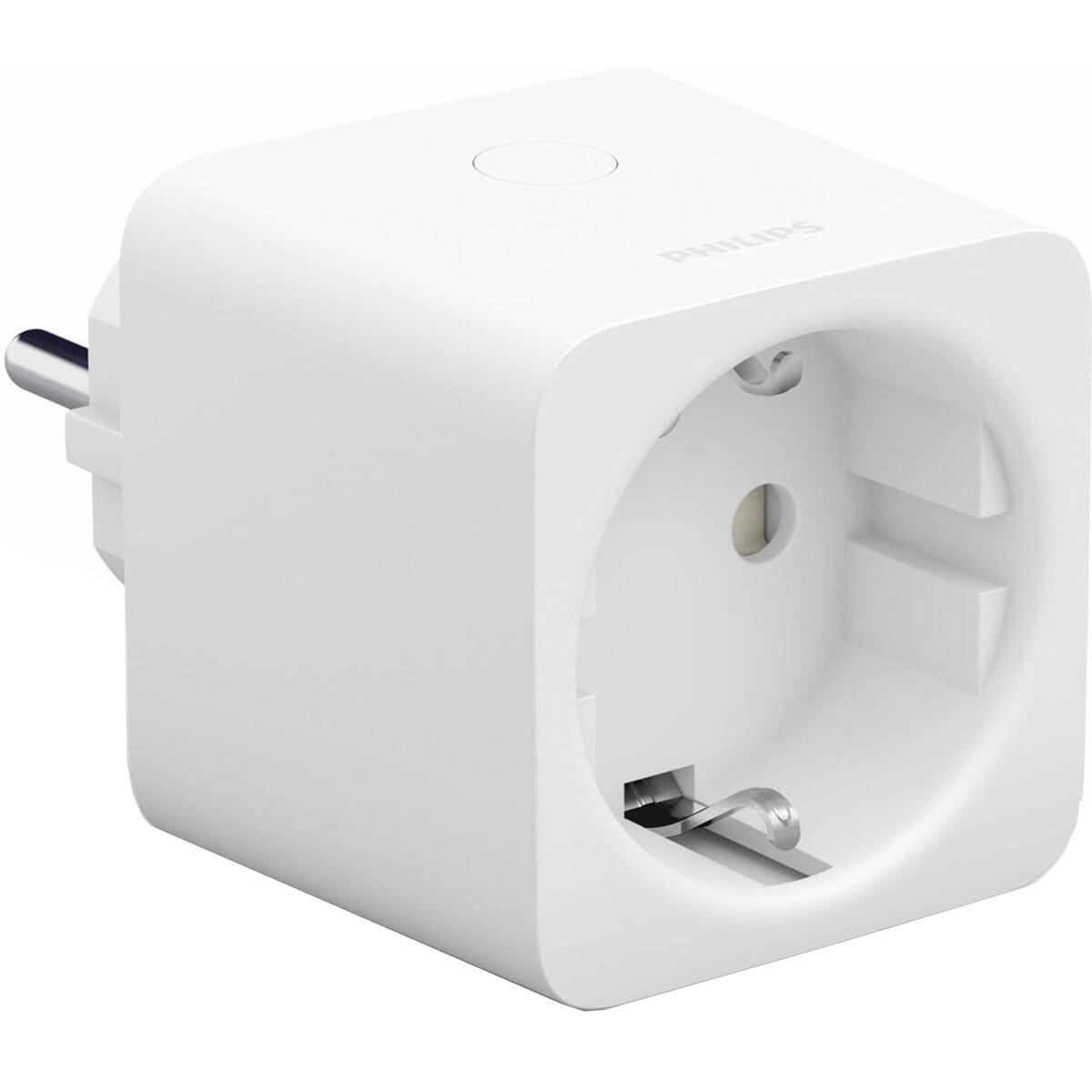 PHILIPS HUE - Smart Plug - Slimme Stekker - Bluetooth - Vierkant - Wit