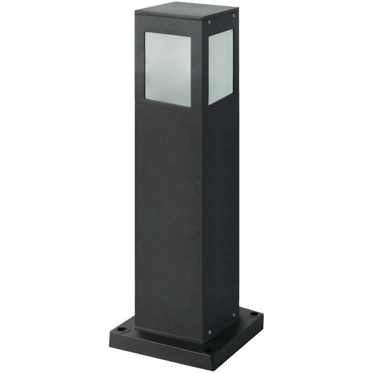 PHILIPS - LED Tuinverlichting - Staande Buitenlamp - CorePro LEDbulb 827 A60 - Kavy 4 - E27 Fitting