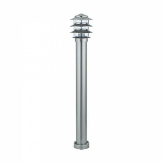 PHILIPS - LED Tuinverlichting - Staande Buitenlamp - CorePro LEDbulb 827 A60 - Kayo 4 - E27 Fitting