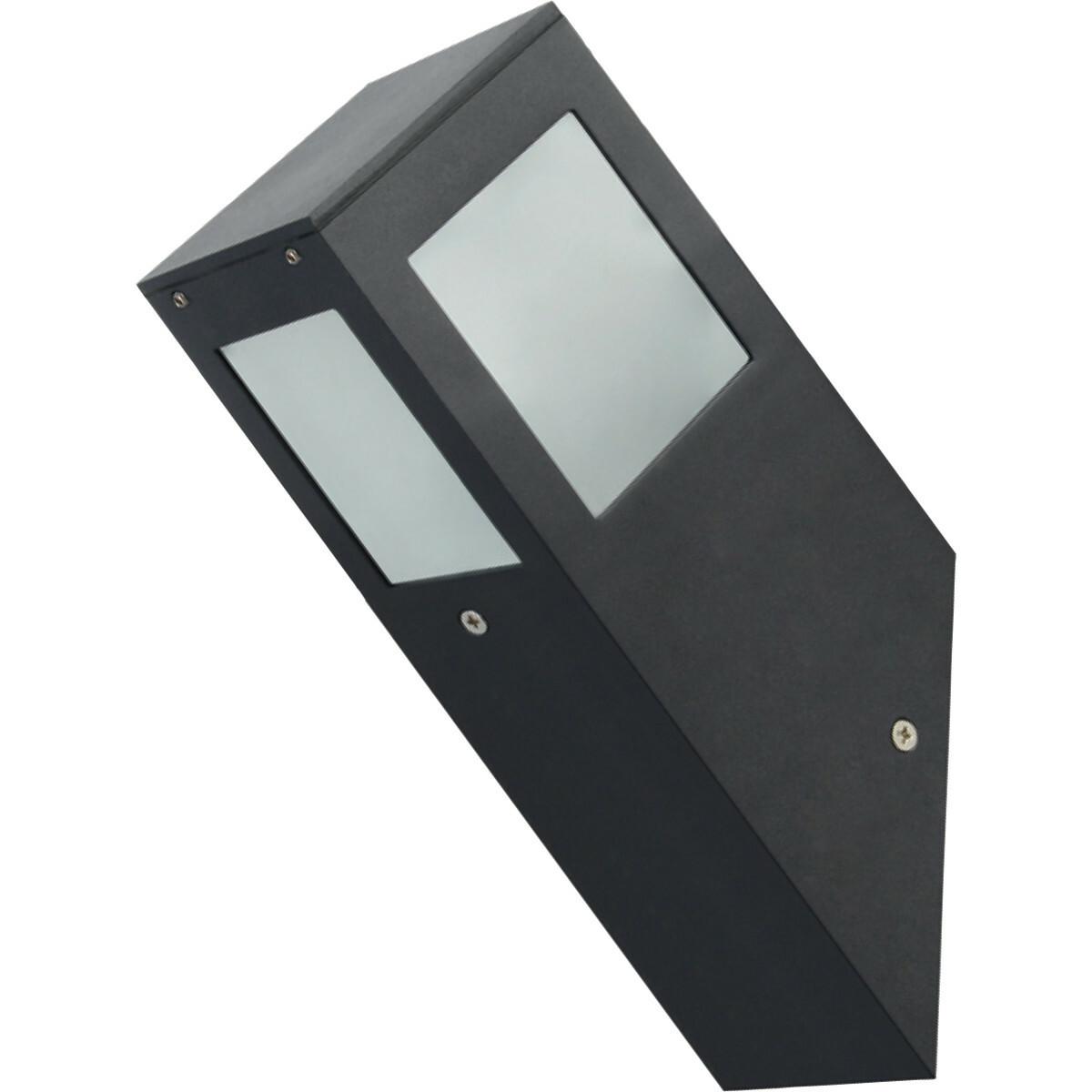 PHILIPS - LED Tuinverlichting - Wandlamp Buiten - CorePro LEDbulb 827 A60 - Kavy 1 - E27 Fitting - 8