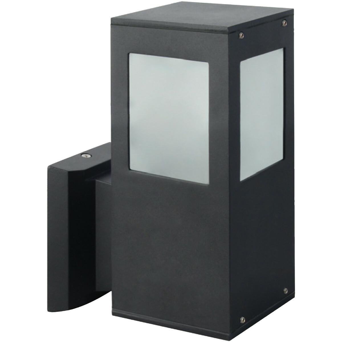 PHILIPS - LED Tuinverlichting - Wandlamp Buiten - SceneSwitch 827 A60 - Kavy 2 - E27 Fitting - Dimba