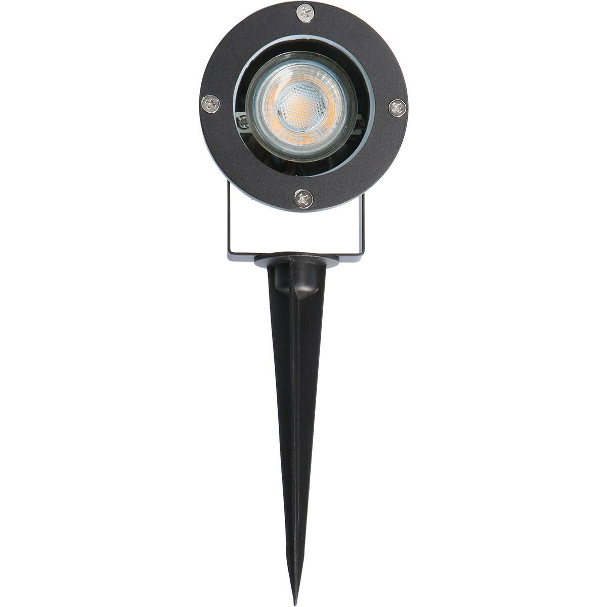 PHILIPS - Prikspot met Stekker - CorePro 830 36D - Sanola Urbun - GU10 Fitting - Dimbaar - 5W - Warm
