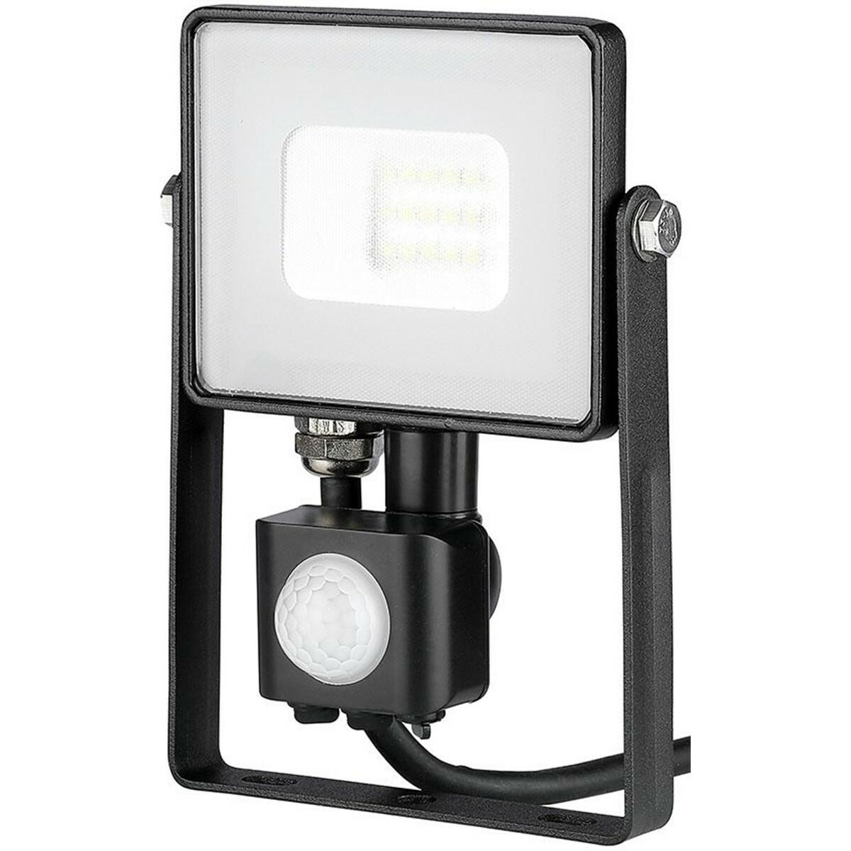 SAMSUNG - LED Bouwlamp 10 Watt met Sensor - LED Schijnwerper - Viron Dana - Natuurlijk Wit 4000K - M