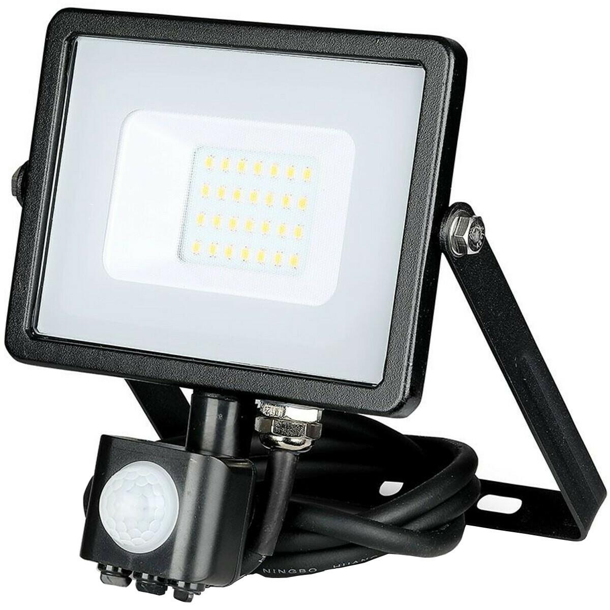 SAMSUNG - LED Bouwlamp 20 Watt met Sensor - LED Schijnwerper - Viron Dana - Natuurlijk Wit 4000K - M