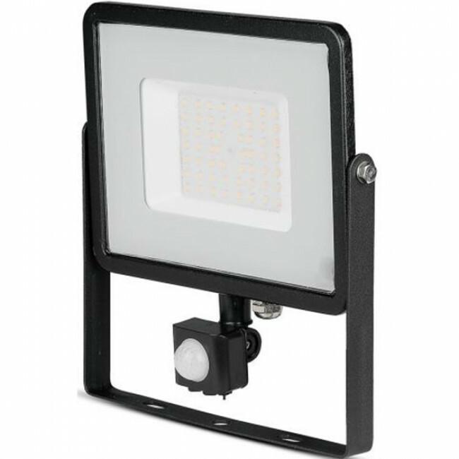 SAMSUNG - LED Bouwlamp 50 Watt met Sensor - LED Schijnwerper - Viron Dana - Natuurlijk Wit 4000K - M
