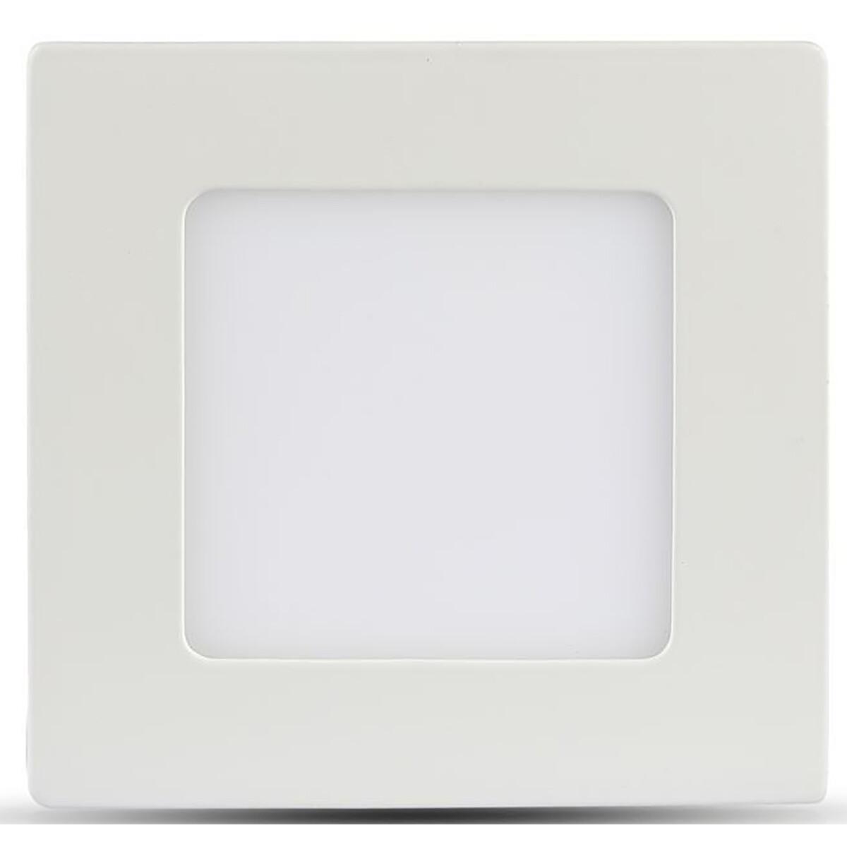SAMSUNG - LED Downlight Slim - Viron Dunson - Inbouw Vierkant 24W - Warm Wit 3000K - Mat Wit - Alumi