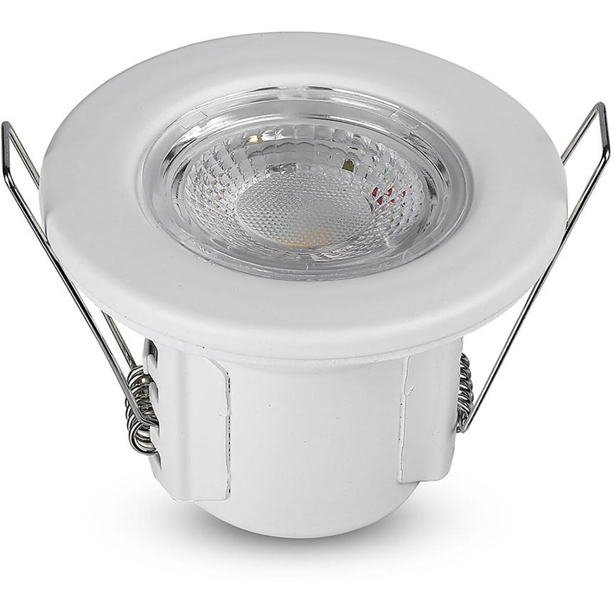 SAMSUNG - LED Spot - Inbouwspot - Viron Cunvi - 5W - Waterdicht IP65 - Dimbaar - Warm Wit 3000K - Ma