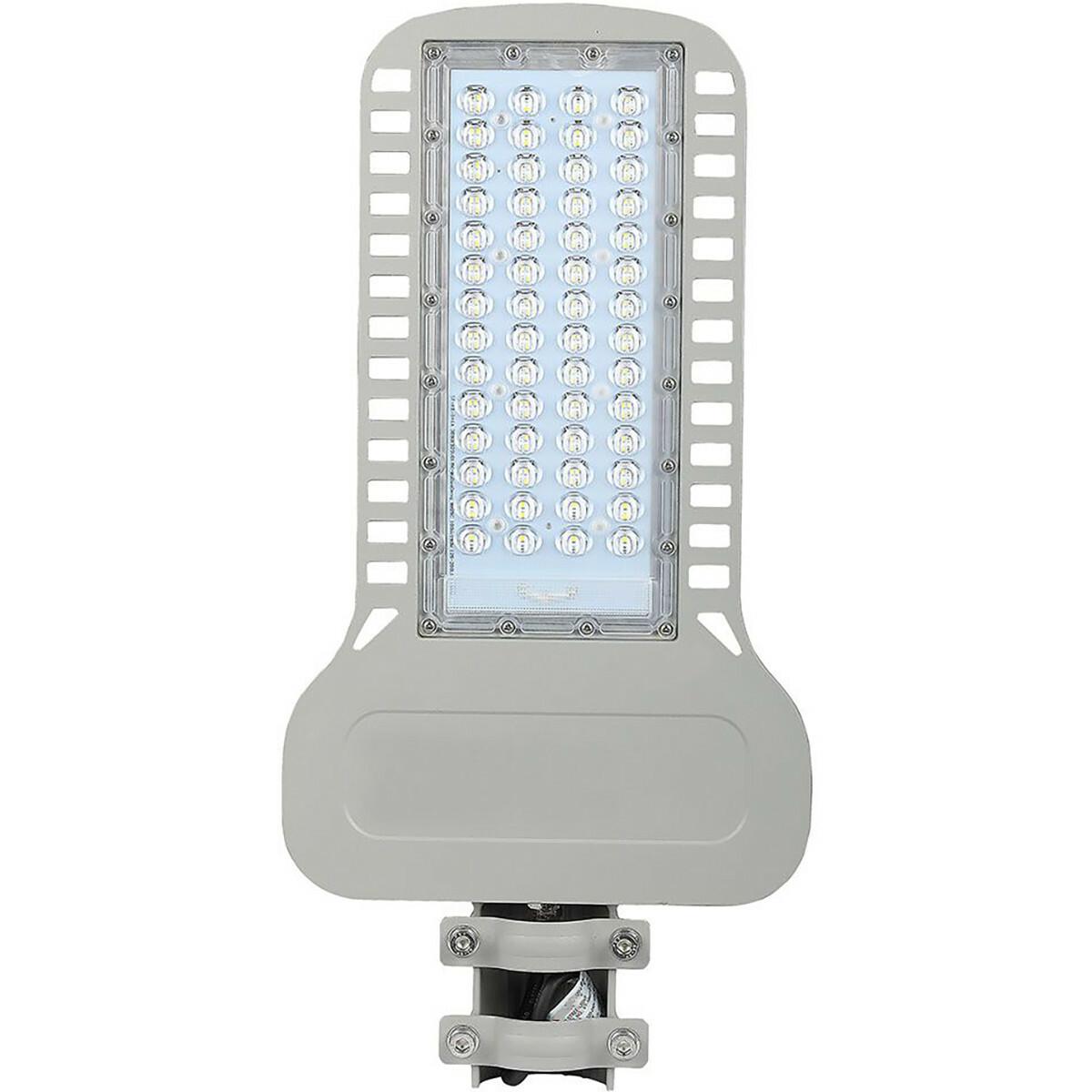 SAMSUNG - LED Straatlamp Slim - Viron Unato - 100W - Natuurlijk Wit 4000K - Waterdicht IP65 - Mat Gr