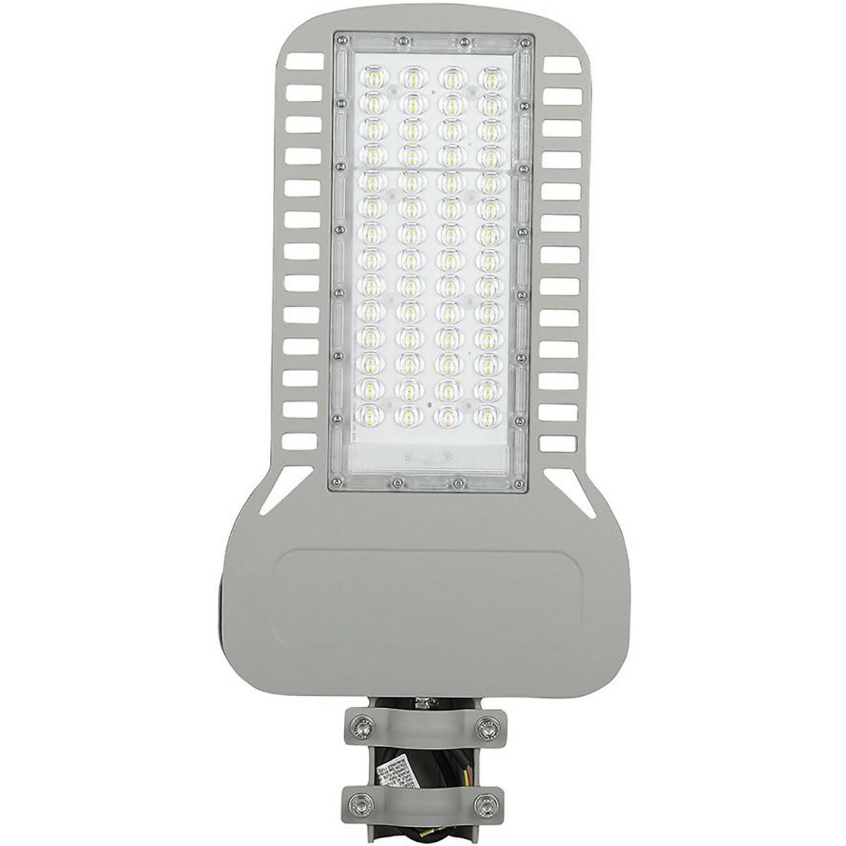 SAMSUNG - LED Straatlamp Slim - Viron Unato - 150W - Helder/Koud Wit 6400K - Waterdicht IP65 - Mat G