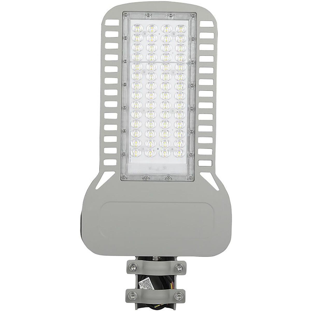 SAMSUNG - LED Straatlamp Slim - Viron Unato - 150W - Natuurlijk Wit 4000K - Waterdicht IP65 - Mat Gr
