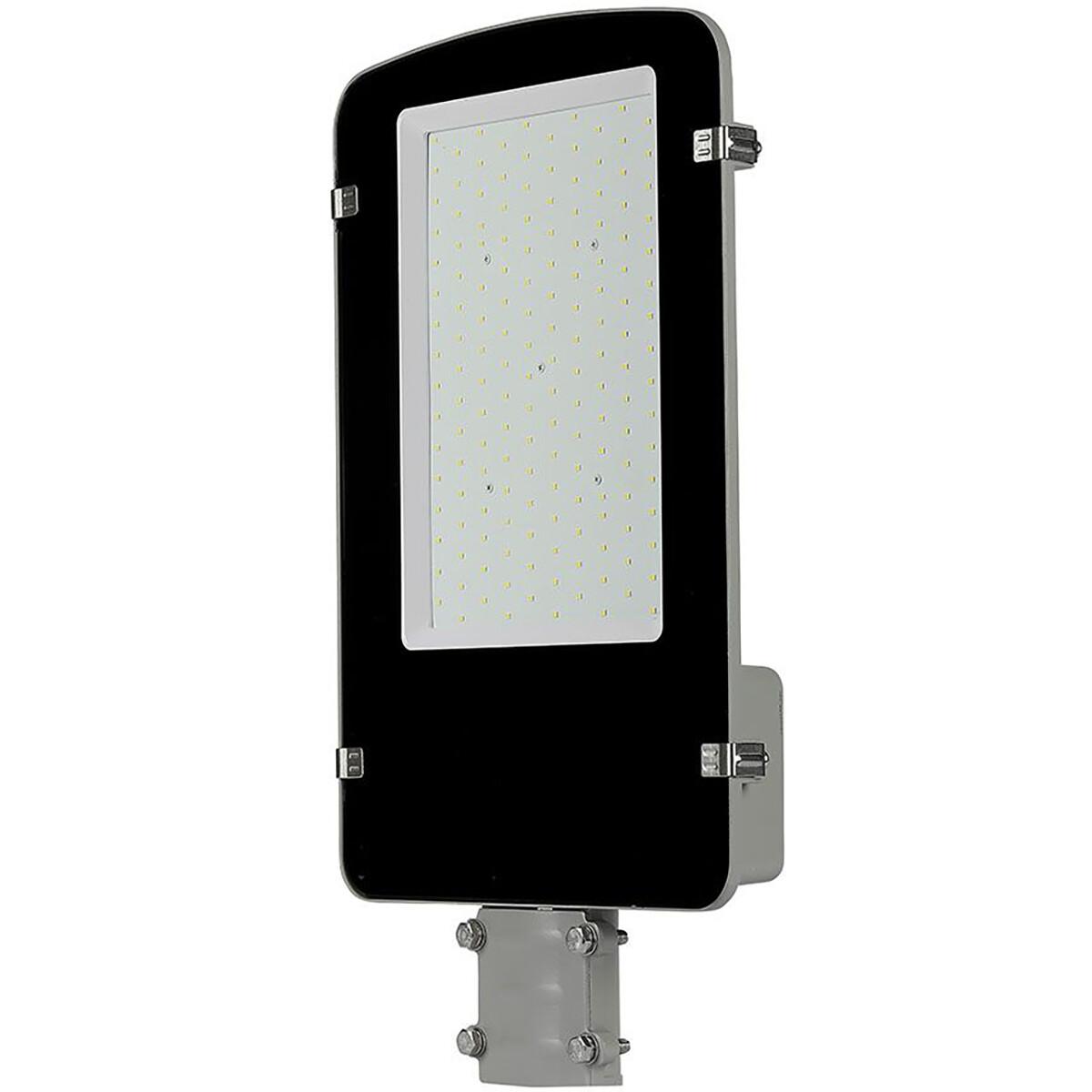 SAMSUNG - LED Straatlamp - Viron Anno - 100W - Helder/Koud Wit 6400K - Waterdicht IP65 - Mat Zwart -