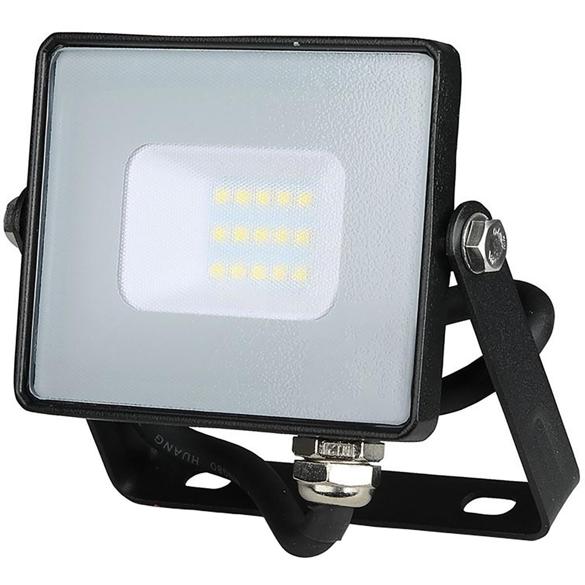 SAMSUNG - LED Bouwlamp 10 Watt - LED Schijnwerper - Viron Ponimo - Helder/Koud Wit 6400K - Kabelverb