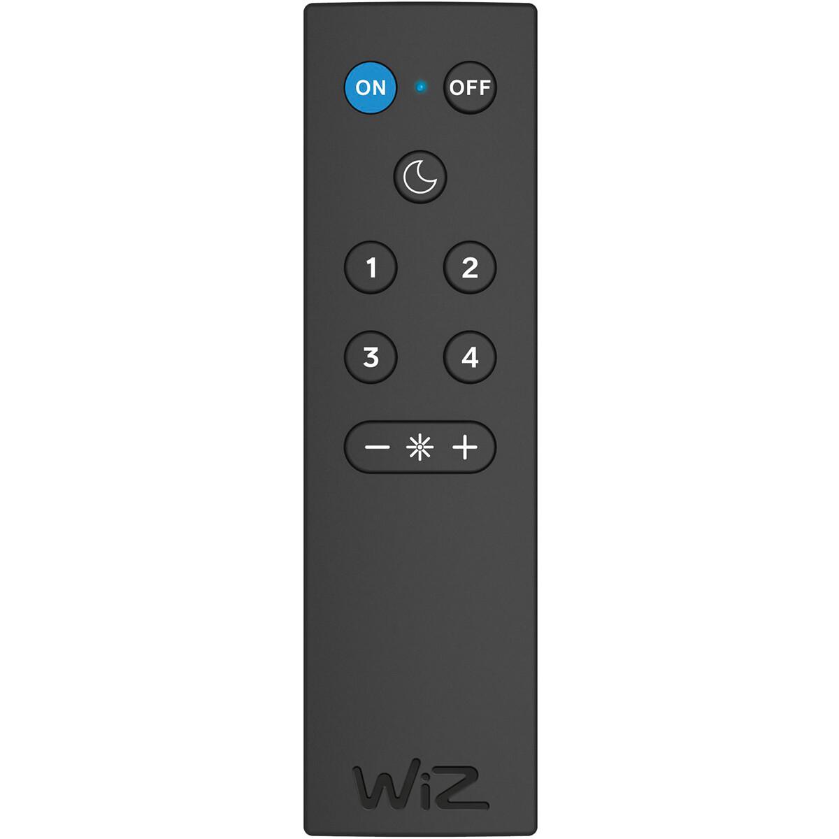 Slimme Draadloze Afstandsbediening - Trion WiZ Smart Connect - Mat Zwart
