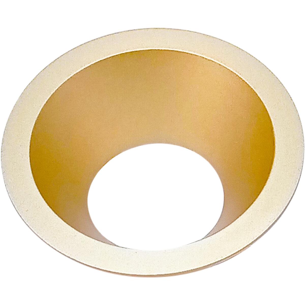 Spot Ring - Pragmi Cliron Pro - Rond - Mat Goud