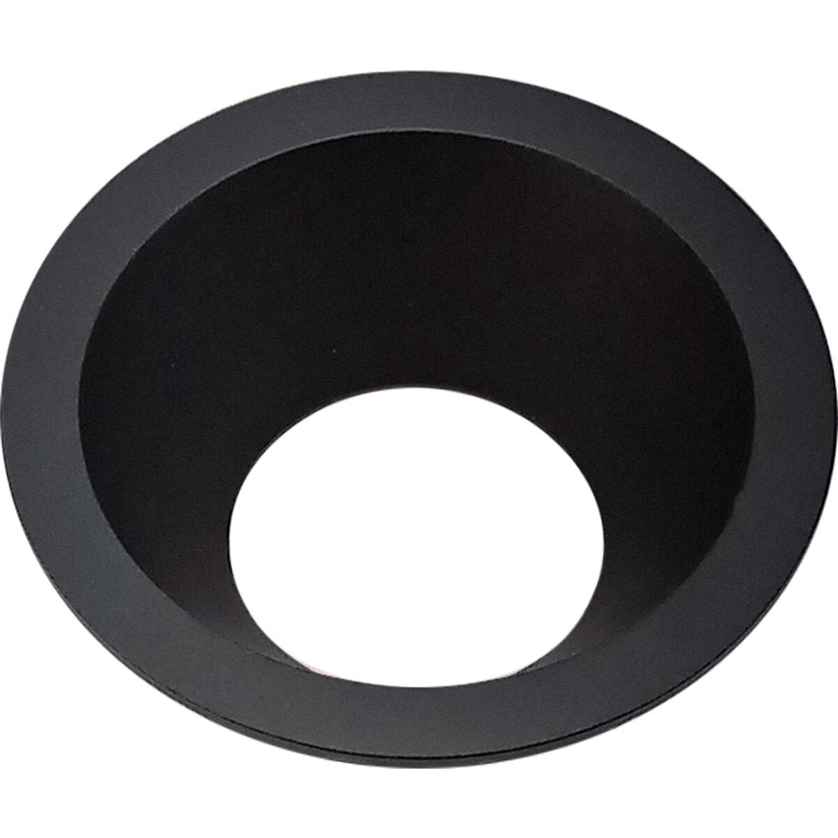 Spot Ring - Pragmi Cliron Pro - Rond - Mat Zwart