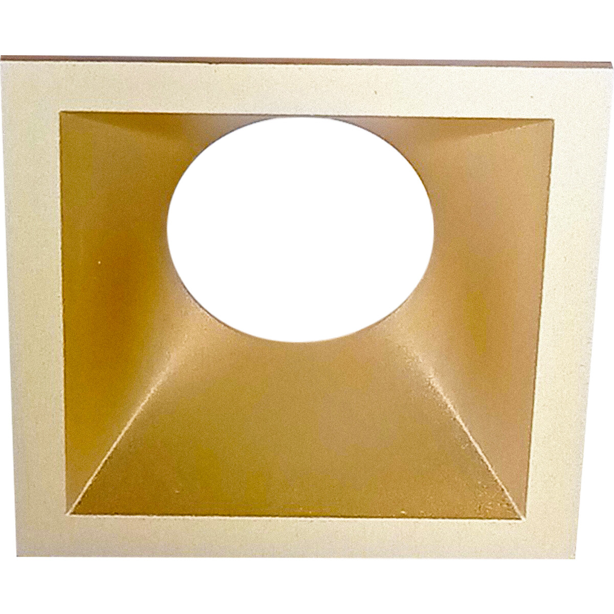 Spot Ring - Pragmi Cliron Pro - Vierkant - Mat Goud